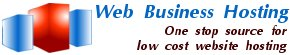 Web Business Hosting.  One stop source for low cost website hosting.